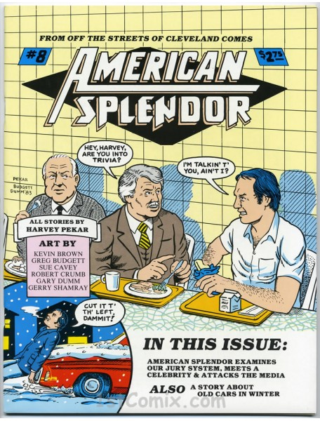 an examination of american splendor The paperback of the making history: a personal approach to modern american history by bruce olav solheim at barnes & noble free shipping on $25 or.