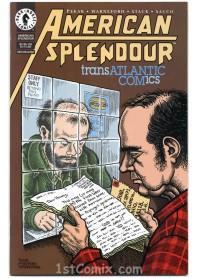 American Splendor Transatlantic Comics