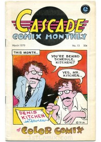 Cascade Comix Monthly No.13
