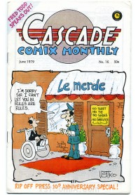 Cascade Comix Monthly No.16