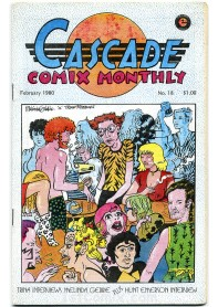 Cascade Comix Monthly No.18