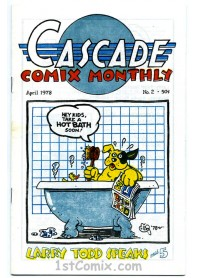 Cascade Comix Monthly No.2