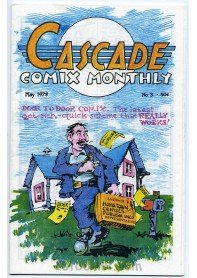 Cascade Comix Monthly No.3
