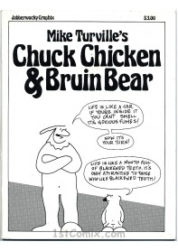Chuck Chicken and Bruin Bear