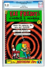 Fat Freddy's Comics and Stories #2