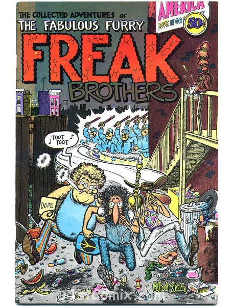 Freak Brothers #1 2nd State