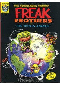 "Freak Brothers in ""The Idiots Abroad"""