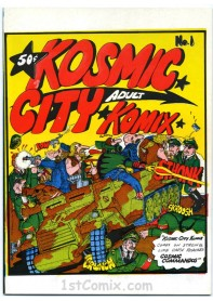 Kosmic City Komix
