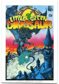 Little Green Dinosaur #1