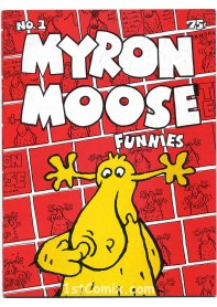 Myron Moose Funnies #1