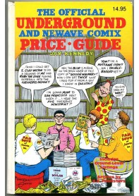 The Official Underground and Newave Comix Price Guide
