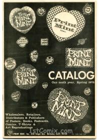Print Mint Catalog, Spring 1975