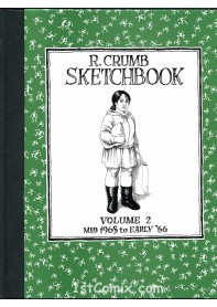 R. Crumb Sketchbook Vol. 2