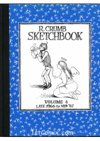 R. Crumb Sketchbook Vol. 4