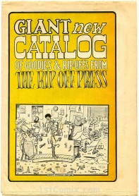 Rip Off Press Catalog, 1972