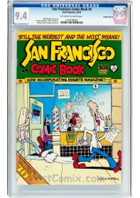 San Francisco Comic Book #4