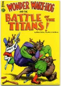Wonder Wart-Hog and the Battle of the Titans